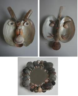 Bric-collage de coquillages