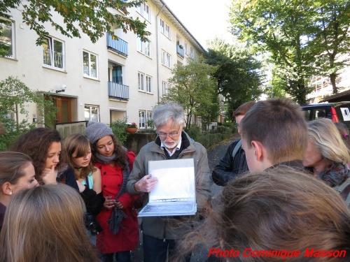 Les élèves du lycée Désiré Nisard en voyage à Stuttgart