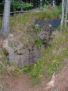 col de engin et sentier bunkers 222