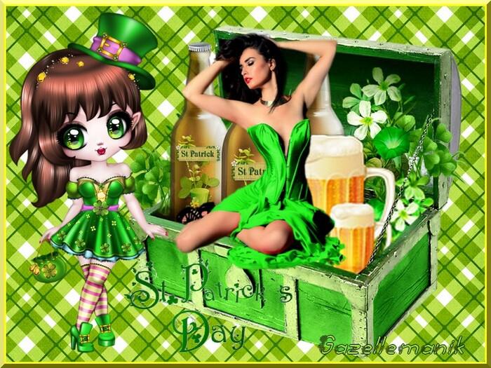 St Patrick Vendredi 17 crétion pour vous !