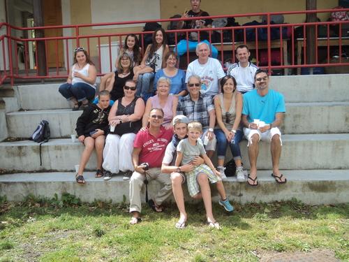 La famille Masini au complet