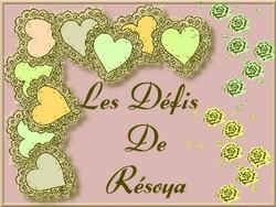 Défi Resoya