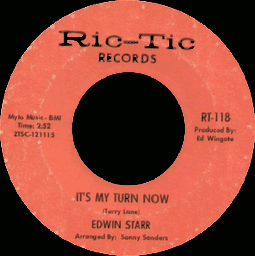"Edwin Starr : CD "" The Singles Ric-Tic Records Early Years 1965-1967 "" Soul Bag Records DP 19 [ FR ]"