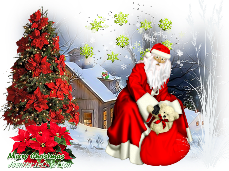 le plus Noël ((Copyright numéro de dépôt c97634 )