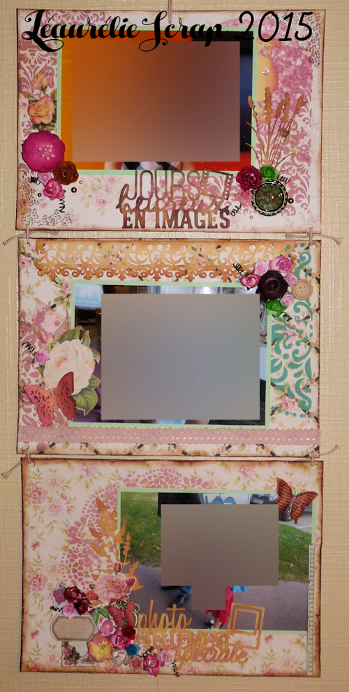 Triptyque Shabby Chic