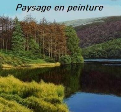 Dessin et peinture - vidéo 2971 : Comment peindre un paysage anglais ? 1/2 - peinture à l'huile.