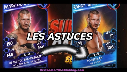 Amazing ways of winning the match in WWE supercard