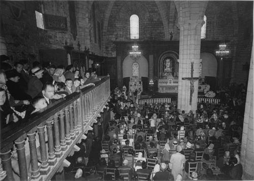 La basilique Saint Sauveur dans son ancien arrangement
