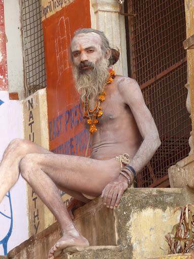 un shâdu au bord du Gange