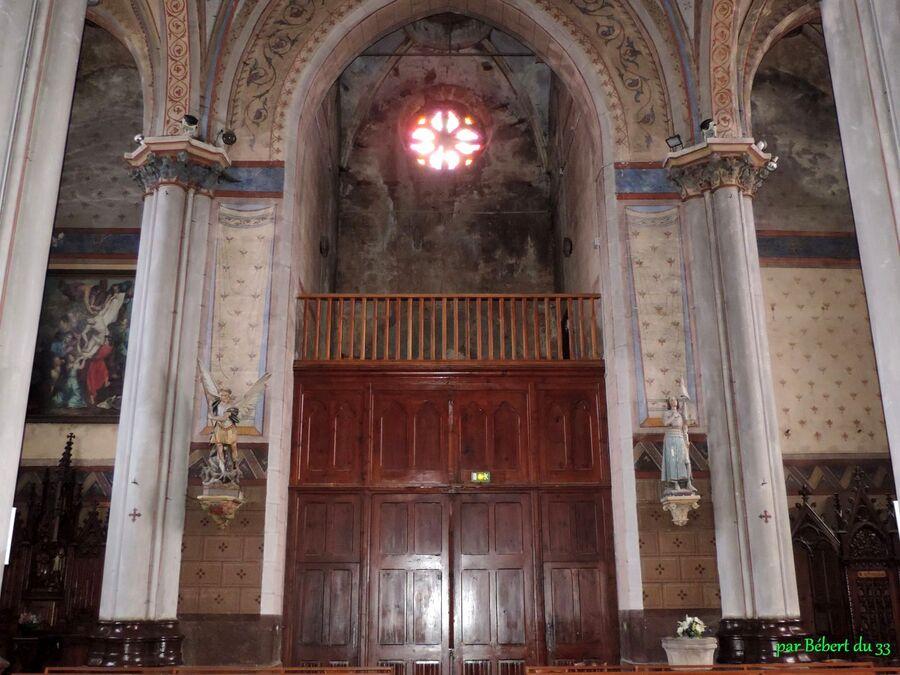l'église de Saint Anthème (63)