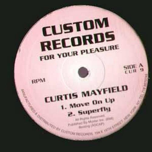"2004 : Single SP 12 Inch "" Custom Records CUR 9 [ US ]"