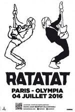 Ratatat : leur concert à l'Olympia pour une sortie entre amis
