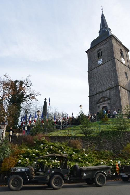 * 23 novembre - Commémorations du 70e anniversaire de la Libération dans le canton de GIROMAGNY