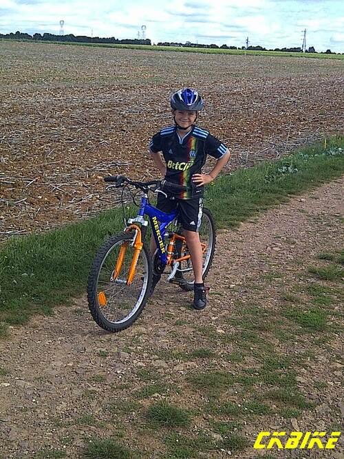 Un premier CKbike pour Enzo