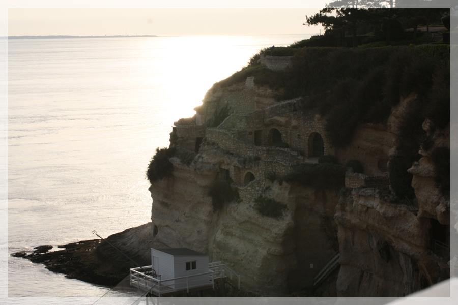 Coucher de soleil sur Merschers-sur-Gironde!