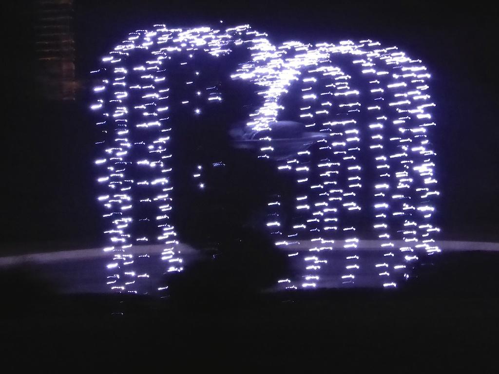 Bonne Année, retour à petits pas et illuminations de Saint Cyr.