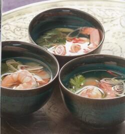 Soupe de crevettes aux 7 parfum (Thaïlande)