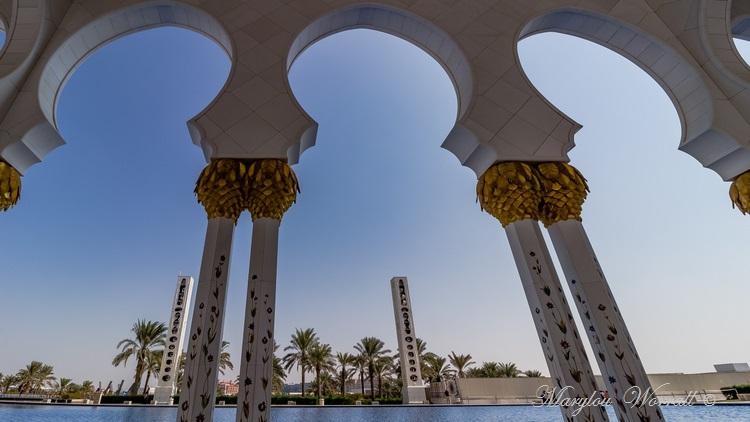 Abu Dhabi : Mosquée du Sheikh Zayed 2/