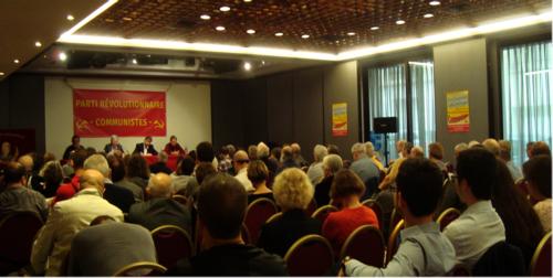 - Suite à le réunion publique à Paris le 7 novembre du Parti Révolutionnaire Communiste (PRC)