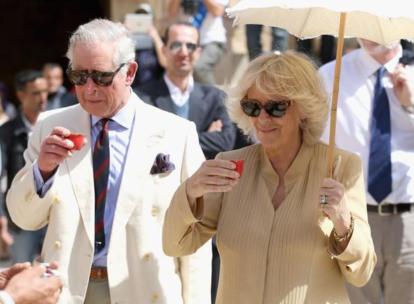 Charles et Camilla à Jérash