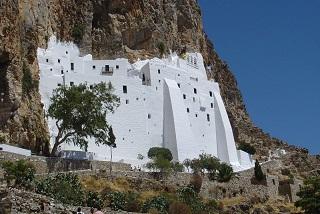 Le monastère de Hozoviotissa à Amorgos  ...