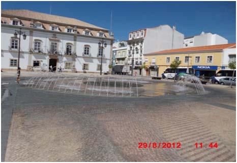 Divagar em cidade do Portimao
