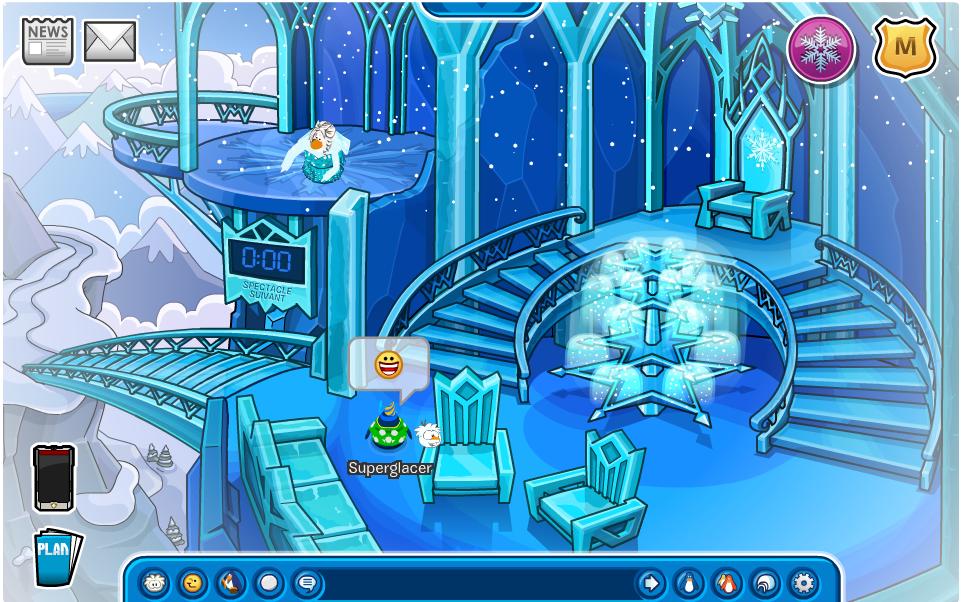 le palais de glace a ouvert ses portes