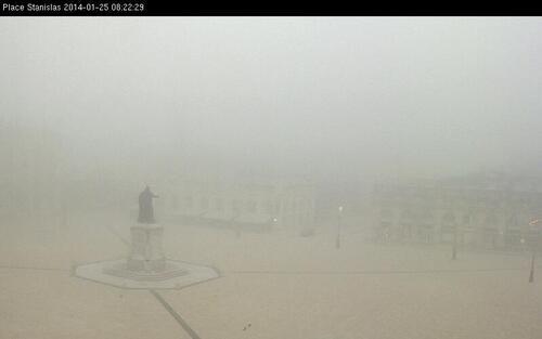 Le brouillard est de retour ...