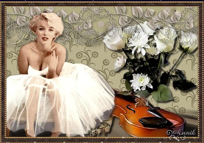 Marilyn Monroé défi pour Beauty