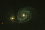 M51 - photo de 2010 retravaillée
