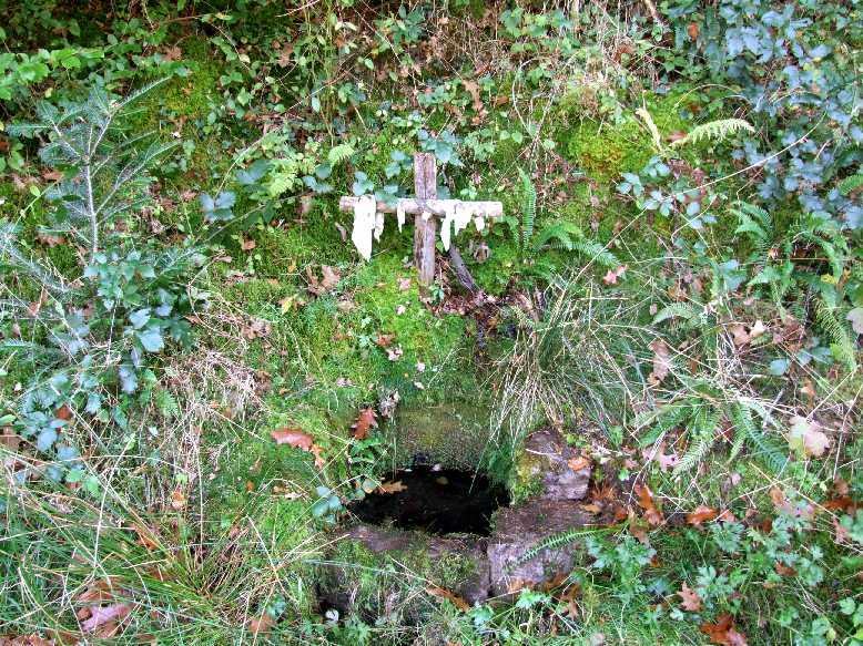 Châteauneuf-la-forêt, fontaine Saint Nicolas d'Excidioux