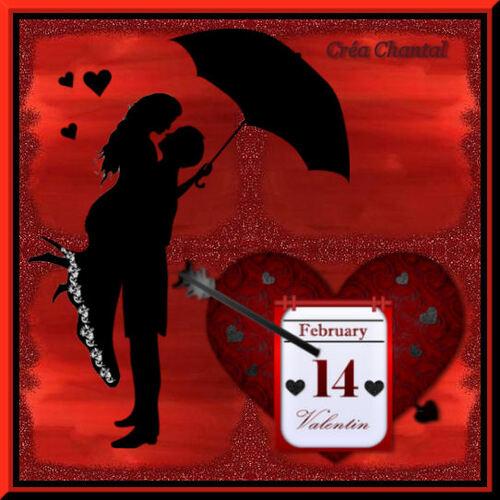 Création St valentin