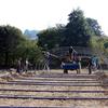 Installation de serre par paysan et Amapotagiens
