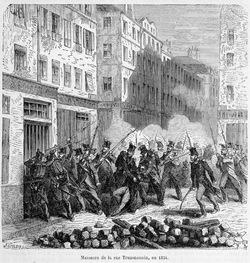 Le massacre de la rue Transnonain - 14 avril 1834