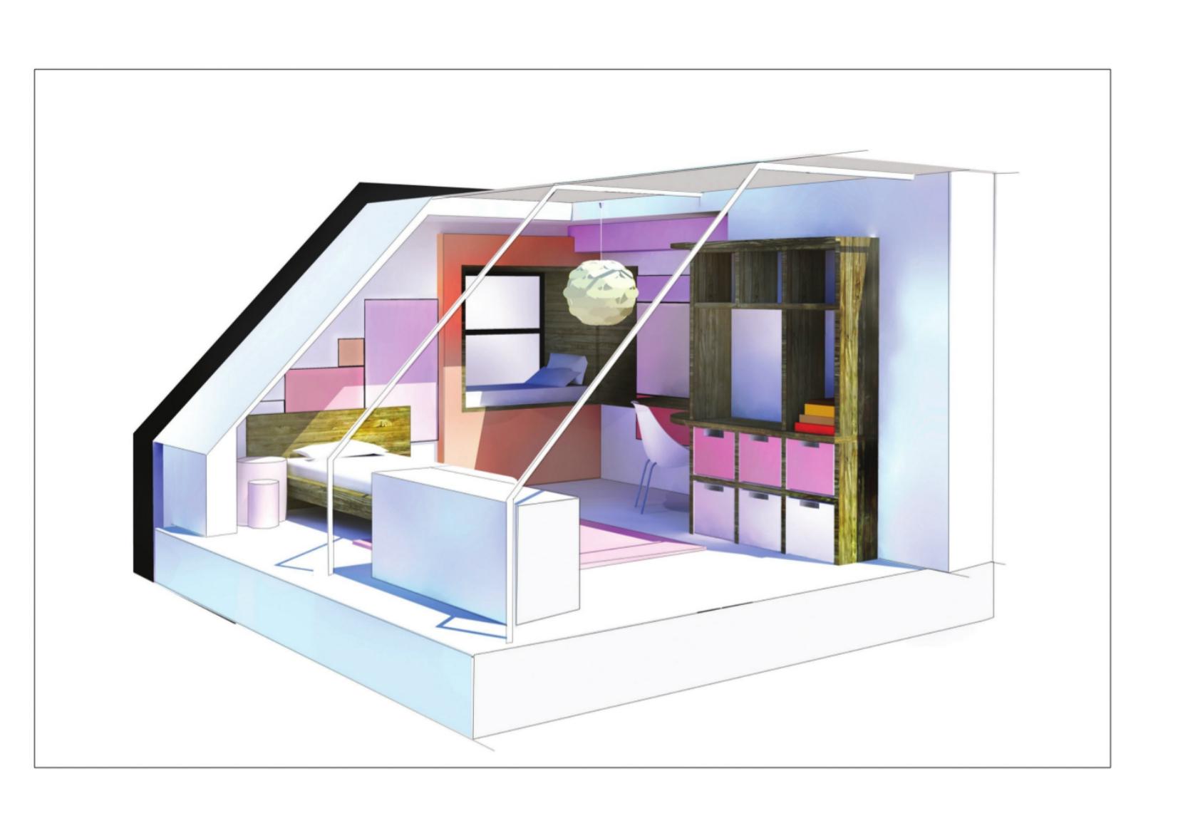Perspective personnel - Décoration chambre d\'enfant - Milbrand ...
