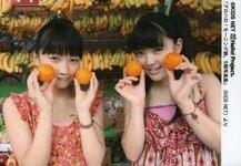 Sayashi Riho 鞘師里保 Kanon Suzuki 鈴木香音  Alo! Hello 6 Morning Musume アロハロ!6 モーニング娘。