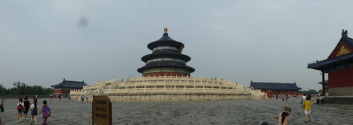 Voyage Transsibérien 2017, le 23/07, 16 ème jour, Chine, Pékin, Temple du ciel