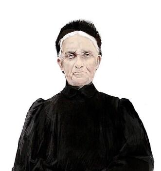 Portrait de Mère par Roland AE Collignon