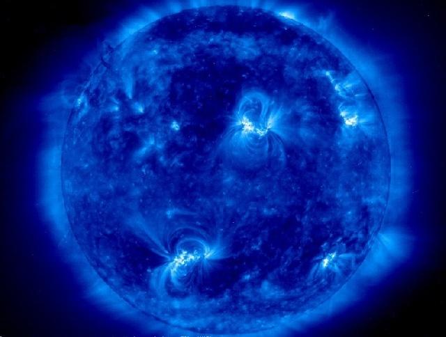 les étoiles : Le soleil