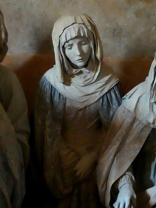 Le Saint Sépulcre de l'église saint Jean-Baptiste à Chaource