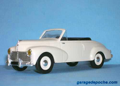 Peugeot  203 cabriolet 1954