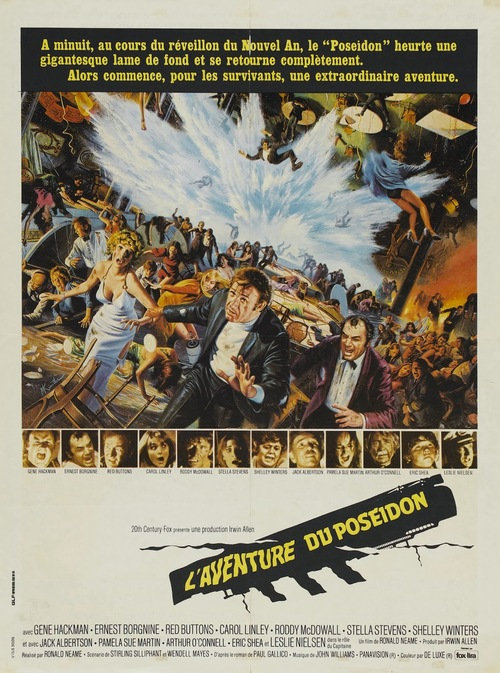 L'AVENTURE DU POSEIDON POSTER BOX OFFICE 1973