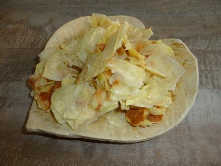 chips de carottes et de pomme de terre