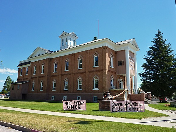Jour 9 Bear Lake Courthouse