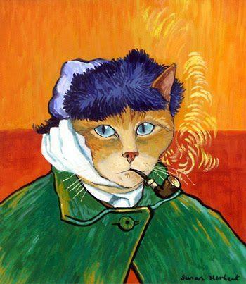Van Gogh por Susan Herbert.: