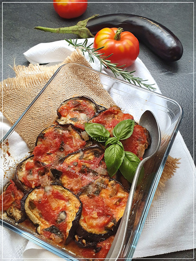 GRATIN D'AUBERGINES A L'ITALIENNE