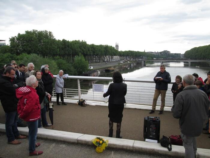 """Des articles concernant  la commémoration   de """"L'Autre 8 Mai 1945""""  à Angers"""