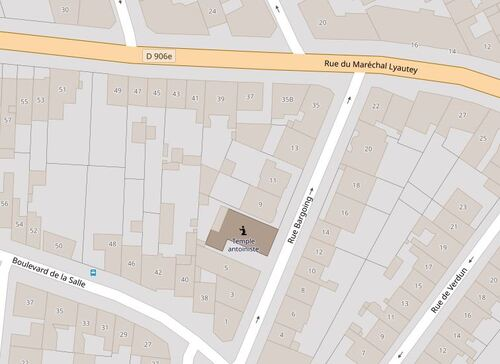 Vichy - rue Bargoing (openstreetmap.org)
