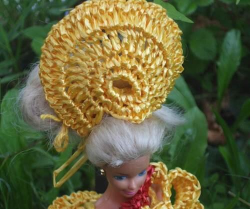Défilé stylistes:Barbie futuriste (2)