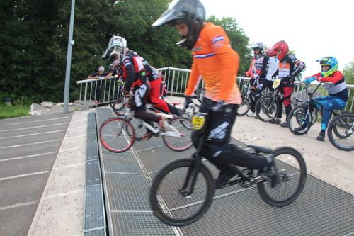 14 Juin 2018 entrainement BMX Mandeure avant derniere entrainement sur la piste dans cette configuration  avant  modificiation